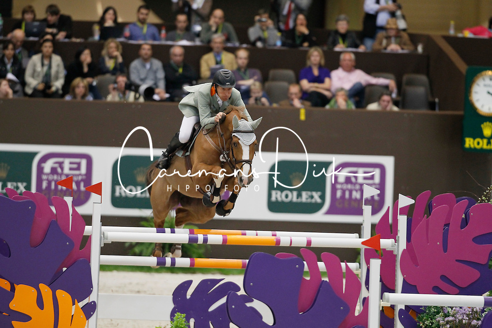 Beerbaum Ludger (GER) - Gotha<br /> Rolex FEI World Cup Final - Geneve 2010<br /> © Dirk Caremans