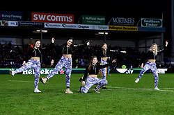 A dance group performs at half time  - Mandatory by-line: Ryan Hiscott/JMP - 18/01/2020 - RUGBY - Sandy Park - Exeter, England - Exeter Chiefs v La Rochelle - Heineken Champions Cup