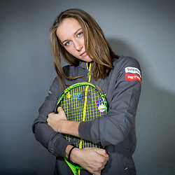 20180125: SLO, Tennis - Press conference of Slovenian FedCup Team