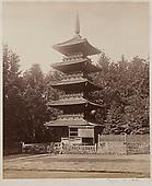 Pagoda at Nikko 1860s