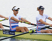 Reading, Great Britain, GBR W8+ group. 2011 GBRowing World Rowing Championship, Team Announcement.  GB Rowing  Caversham Training Centre.  Tuesday  19/07/2011  [Mandatory Credit. Peter Spurrier/Intersport Images] left to right, Jessica Eddie and Louisa Reeve. r