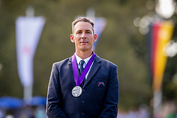 DodderSilver medal, Allaud Benjamin<br /> Prizegiving FEI rider of the year<br /> Driving European Championship <br /> Donaueschingen 2019<br /> © Hippo Foto - Dirk Caremans<br /> Silver medal, Allaud Benjamin