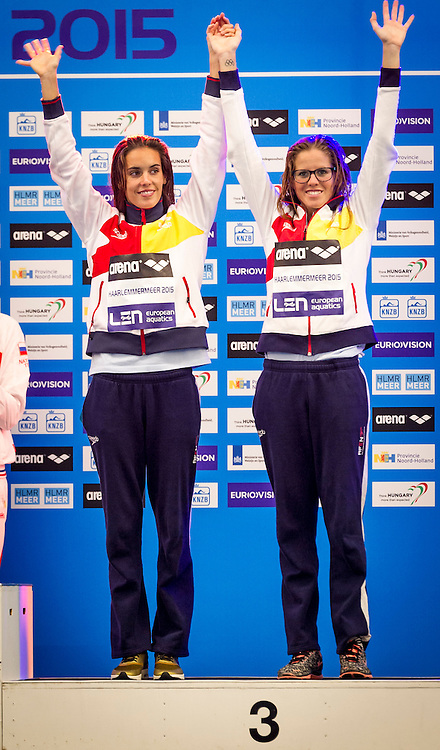 Final Duet Free<br /> ESP SPAIN Bronze Medal<br /> KLAMBURG Paula<br /> CARBONELL Ona<br /> European Champions Cup Synchronised Swimming Haarlemmermeer 2015<br /> Haarlemmermeer, Netherlands 2015  May 8 th - 10 th<br /> Day03 - May 10th<br /> Photo P. F. Mesiano/Deepbluemedia/Inside