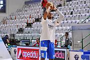 DESCRIZIONE : Campionato 2014/15 Serie A Beko Dinamo Banco di Sardegna Sassari - Grissin Bon Reggio Emilia Finale Playoff Gara6<br /> GIOCATORE : Kenneth Kadji<br /> CATEGORIA : Tiro Riscaldamento Before Pregame<br /> SQUADRA : Dinamo Banco di Sardegna Sassari<br /> EVENTO : LegaBasket Serie A Beko 2014/2015<br /> GARA : Dinamo Banco di Sardegna Sassari - Grissin Bon Reggio Emilia Finale Playoff Gara6<br /> DATA : 24/06/2015<br /> SPORT : Pallacanestro <br /> AUTORE : Agenzia Ciamillo-Castoria/C.Atzori