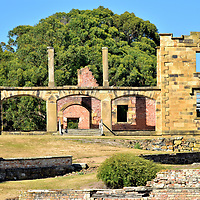 The Hospital at Port Arthur, Australia<br />