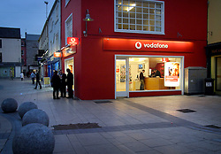 IRELAND KERRY TRALEE 3FEB06 - Vodafone mobile telecoms store in Tralee town centre.. . jre/Photo by Jiri Rezac. . © Jiri Rezac 2006. . Contact: +44 (0) 7050 110 417. Mobile:  +44 (0) 7801 337 683. Office:  +44 (0) 20 8968 9635. . Email:   jiri@jirirezac.com. Web:    www.jirirezac.com. . © All images Jiri Rezac 2006 - All rights reserved.