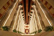 Rydges Plaza Hotel. The atrium.