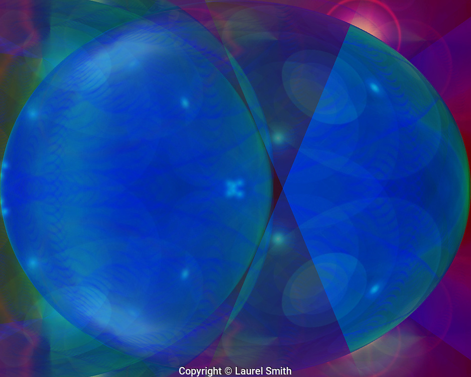 Symphony of Light #92 ~ Wandering Into Other Worlds ~ © Laurel Smith