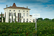 Chateau Providence at Pomerol in the Bordeaux wine region of France