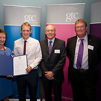 Images from the 2014 GTSC Probabtion Event Pictured are Jackie Brock (Chief Executive of Children First), Fraser Agnew (Midlothian),,Ken Muir (Chief Executive GTCS) and Derek Thompson (Convener GTCS). Thursday 12th June 2014.