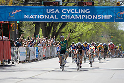 Phillip Mann (Colorado State University) wins for the second year in a row! The 2008 USA Cycling Collegiate National Championships Road Race men's division 2 event was held near Fort Collins, CO on May 9, 2008.