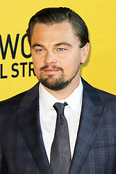 © Licensed to London News Pictures. 09/01/2014, UK. Leonardo DiCaprio, The Wolf of Wall Street - UK film premiere, Odeon Leicester Square, London UK, 09 January 2014. Photo credit : Richard Goldschmidt/Piqtured/LNP