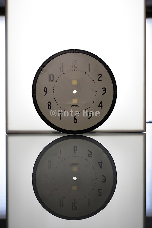 broken clock plate with out dial