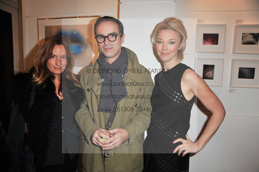 Left to right, EMILY OPPENHEIMER-TURNER, ALISTAIR TAYLOR-YOUNG and TAMARA BECKWITH at a party to launch Alistair Taylor-Young's new book 'The Phone Book' held at The Little Black Gallery, 13A Park Walk, London SW10 on 18th January 2011.