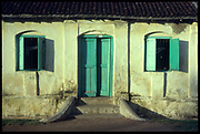 House front, Dyke Street, Trincomalee town.
