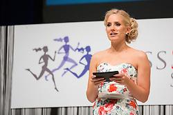 Ajda Sitar at Miss Sports of Slovenia 2015, on April 18, 2015, in Festivalna dvorana, Ljubljana, Slovenia