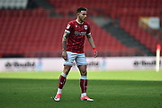 Josh Brownhill (8) of Bristol City during the EFL Sky Bet Championship match between Bristol City and Hull City at Ashton Gate, Bristol, England on 21 April 2018. Picture by Graham Hunt.