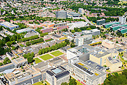 Nederland, Gelderland, Nijmegen, 09-06-2016; landgoed Heyendael, campus Radboud Universiteit Nijmegen met onder andere Huygensgebouw en Radboudumc.<br /> Heyendaal estate, Radboud University Nijmegen campus, Radboud University Medical Centre.<br /> <br /> luchtfoto (toeslag op standard tarieven);<br /> aerial photo (additional fee required);<br /> copyright foto/photo Siebe Swart