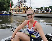 Henley, Great Britain.  Paralympic GB Team Announcement. LTAMix4+, crew member, Naomi RICHES. Henley Royal Regatta. River Thames Henley Reach.  Royal Regatta. River Thames Henley Reach.  Wednesday  27/06/2012  [Mandatory Credit  Karon Phillips/ Intersport Images] . HRR. . HRR.