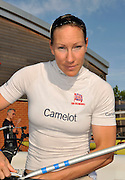 Reading, GREAT BRITIAN, GBR W4X, Debbie FLOOD, British Olympic Association, BOA, 2008 Beijing Olympic Rowing Team Announcement for 2008 Beijing Olympic Games, CHINA. .Redgrave and  Pinsent Rowing Lake, Caversham Training Centre, on Thursday, 26/06/2008. [Mandatory Credit:  Peter SPURRIER / Intersport Images] Rowing course: GB Rowing Training Complex, Redgrave Pinsent Lake, Caversham, Reading , Sunrise, Sunsets, Silhouettes Equipment