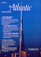 Burj Khalifa (the tallest skyscraper in the world), Dubai, United Arab Emirates