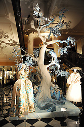 View at the launch of the Claridge's Christmas Tree designed by John Galliano for Dior held at Claridge's, Brook Street, London on 1st December 2009.