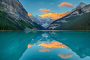 Sunrise at Lake Louise, Banff National Park, Alberta, Canada
