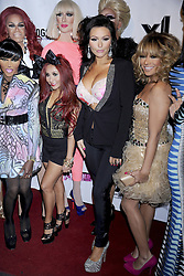 RuPauls Drag Race Season 5 Party..Nicole Snooki Polizzi and Jenni JWoww Farley  attend the RuPaul s Drag Race season 5 party at XL Nightclub, New York City, USA, January 25, 2013. Photo by Imago / i-Images...UK ONLY