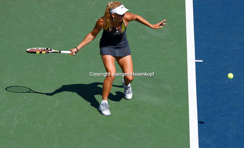 US Open 2010, USTA Billie Jean National Tennis.Center, NewYork,ITF Grand Slam Tennis Tournament . Caroline Wozniacki (DEN)