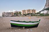 Palermo coastline, wounded landscape