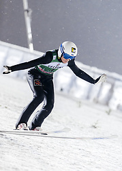February 8, 2019 - Lahti, Finland - Mikhail Nazarov competes during FIS Ski Jumping World Cup Large Hill Individual Qualification at Lahti Ski Games in Lahti, Finland on 8 February 2019. (Credit Image: © Antti Yrjonen/NurPhoto via ZUMA Press)