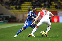 Nabil FEKIR - 01.02.2015 - Monaco / Lyon - 23eme journee de Ligue 1 -<br />Photo : Eric Gaillard / Icon Sport