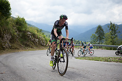 Riejanne Markus (NED) of WM3 Pro Cycling Team climbs the main climb of Stage 2 of the Giro Rosa - a 122.2 km road race, between Zoppola and Montereale Valcellina on July 1, 2017, in Pordenone, Italy. (Photo by Balint Hamvas/Velofocus.com)