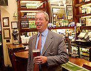 NIgel Farage <br /> leader of UKIP <br /> speech <br /> &quot;The Truth about Trade beyond the EU&quot; <br /> in Westminster London Great Britain <br /> 17th June 2015 <br /> <br /> Nigel Farage <br /> <br /> <br /> Photograph by Elliott Franks <br /> Image licensed to Elliott Franks Photography Services