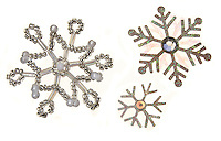 jeweled snowflake