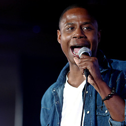 NEW ORLEANS, LOUISIANA - JULY 3: Singer Doug E. Fresh performs in the ESSENCE.com Superlounge during the 2011 Essence Music Festival Day 3 at the Louisiana Superdome on July 3, 2011 in New Orleans, Louisiana. (Photo by Derick E. Hingle).