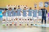 Pescara's players during UEFA Futsal Cup 2015/2016 3º/4º place match. April 22,2016. (ALTERPHOTOS/Acero)