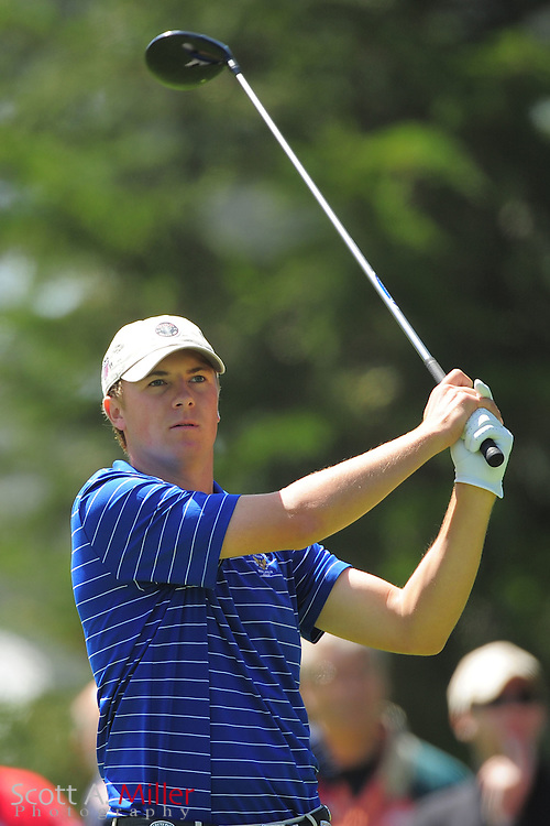 Jordan Spieth during the second round of the 112th U.S. Open at The Olympic Club on June 15, 2012 in San Fransisco. ..©2012 Scott A. Miller