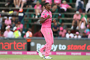 Lungi Ngidi  during the One Day International match between South Africa and England at Bidvest Wanderers Stadium, Johannesburg, South Africa on 9 February 2020.