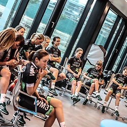 07-02-2017: Wielrennen: Teampresentatie WM3: Eindhoven  <br /> EINDHOVEN (NED) cycling<br /> At the European Head Quater of Shimano the new WM3 Team with leading lady Marianne Vos was presented