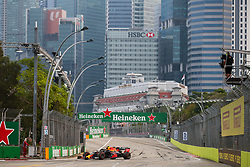 September 20, 2019, Singapore, Singapore: Motorsports: FIA Formula One World Championship 2019, Grand Prix of Singapore, .#23 Alexander Albon (THA, Aston Martin Red Bull Racing) (Credit Image: © Hoch Zwei via ZUMA Wire)