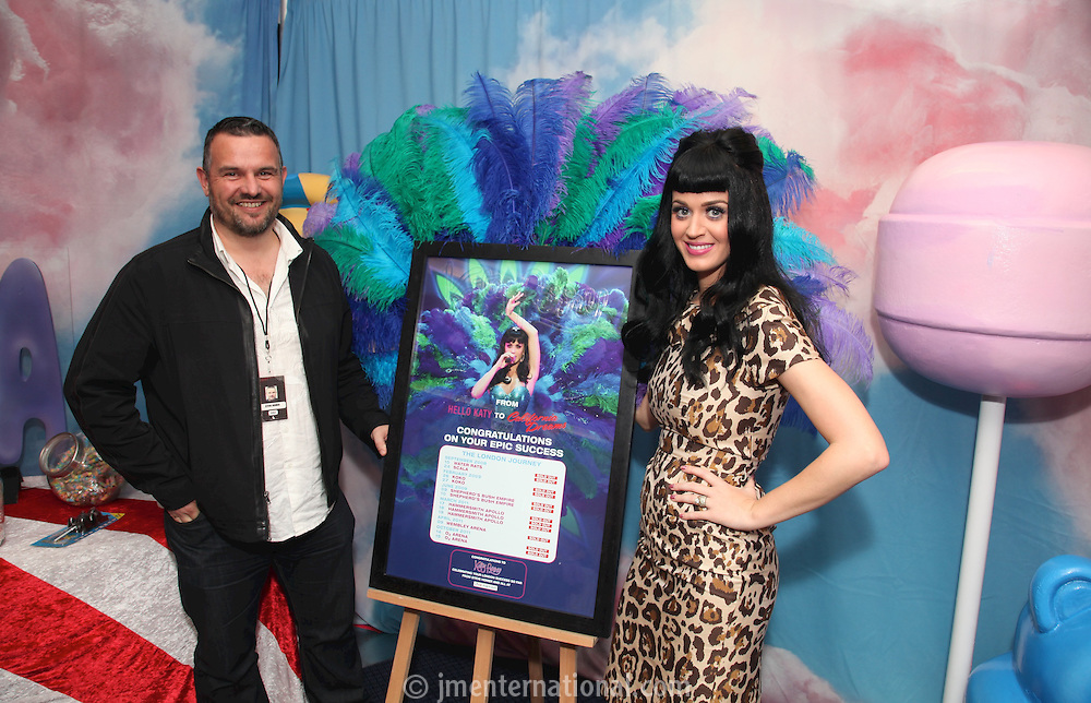 Steve Homer and Katy Perry