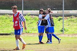 Caixas do Sul, 10/09/2011 - Lance da partida entre as equipes do EstrelaFutebol Clube x Carlos Barbosa, valida pela Copa Coca-Cola, no campo do Complexo Esportivo Zona Norte, em Caxias do Sul. FOTO: Marcelo Campos/Preview.com