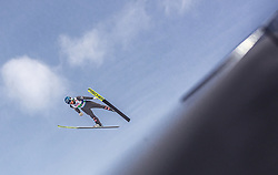 02.03.2019, Seefeld, AUT, FIS Weltmeisterschaften Ski Nordisch, Seefeld 2019, Skisprung, Mixed Team Bewerb, im Bild Philipp Aschenwald (AUT) // Philipp Aschenwald of Austria during the mixed team competition in ski jumping of nordic combination of FIS Nordic Ski World Championships 2019. Seefeld, Austria on 2019/03/02. EXPA Pictures © 2019, PhotoCredit: EXPA/ Stefanie Oberhauser