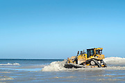 Redington Beach, Pinellas County,  Florida, USA., Tuesday, 16th October, 2018, Beach Replenishment, © Peter Spurrier
