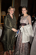PRINCESS KATYA GALITZINE;  VALENTINA ARTSINOVICH Professor Mikhail Piotrovsky Director of the State Hermitage Museum, St. Petersburg and <br /> Inna Bazhenova Founder of In Artibus and the new owner of the Art Newspaper worldwide<br /> host THE HERMITAGE FOUNDATION GALA BANQUET<br /> GALA DINNER <br /> Spencer House, St. James's Place, London<br /> 15 April 2015