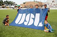 July 2, 2016: OKC Energy FC plays the Rio Grande Valley FC Toros in a USL game at Taft Stadium in Oklahoma City, Oklahoma.