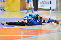Mackovsek Borut of RK Celje Pivovarna Lasko prior handball match between RK Krka and RK Celje Pivovarna Lasko in the Final of Slovenian Men Handball Cup 2018, on April 22, 2018 in Sportna dvorana Ljutomer , Ljutomer, Slovenia. Photo by Mario Horvat / Sportida