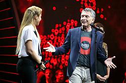 July 6, 2017 - Hamburg, Hamburg, Deutschland - Shakira und Mauricio Macri beim Global Citizen Festival anlässlich des G20-Gipfel in der Barclaycard Arena. Hamburg, 06.07.2017 (Credit Image: © Future-Image via ZUMA Press)