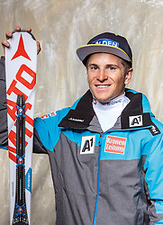 08.10.2016, Olympia Eisstadion, Innsbruck, AUT, OeSV Einkleidung Winterkollektion, Portraits 2016, im Bild Fabio Gstrein, Ski Alpin Herren // during the Outfitting of the Ski Austria Winter Collection and official Portrait Photoshooting at the Olympia Eisstadion in Innsbruck, Austria on 2016/10/08. EXPA Pictures © 2016, PhotoCredit: EXPA/ JFK